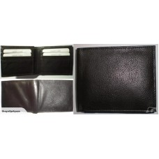 Leather RFID Blocking 6 Card Slot Bifold  Wallet
