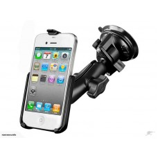 RAM iPhone 5, 5S & SE Mount with Twist Lock Suction Cup Base