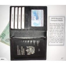 RFID Blocking Passport Wallet - Prevent Skimming