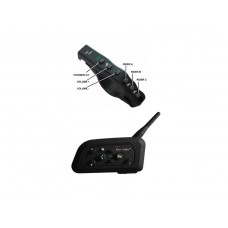 Single BTR4 Motorcycle Intercom with remote