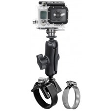 RAM Action Camera / GoPro Camera Ball Adapter with V-Base Strap Mount