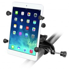 "RAM Yoke Clamp w/7"" Tablet X-Grip Cradle"