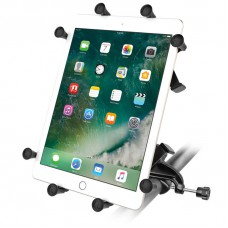 """RAM X-Grip Universal Cradle for 10"""" Tablets with Yoke Clamp Mount"""