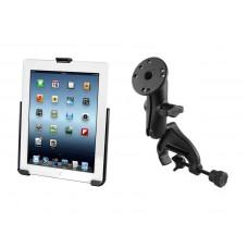 RAM iPad 2-4 Cradle with Yoke Clamp Mount