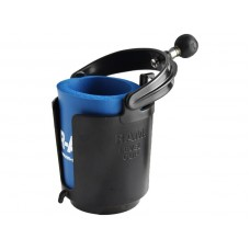 "RAM Self-Leveling Cup Holder with 1"" Ball & Cozy"