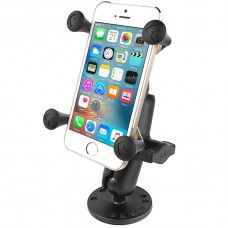 RAM X-Grip Universal Smartphone Cradle with Flat Surface Mount