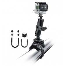 RAM Action Camera / GoPro Mount with U-Bolt Rail Handlebar Base