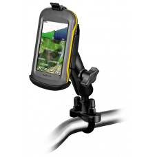 RAM Garmin Cradle - Montana 600 / 650 / 680 - with U-Bolt Rail Handlebar Mount
