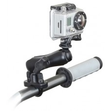 RAM Action Camera / GoPro with U-Bolt Rail Handlebar Mount