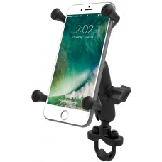 RAM X-Grip Universal Phablet Cradle with U-Bolt Base - Medium Arm