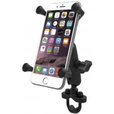 RAM X-Grip Universal Phablet Cradle with U-Bolt Rail Handlebar mount