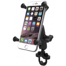 RAM X-Grip Universal Phablet Cradle with U-Bolt Rail Handlebar mount (short arm)