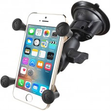 RAM X-Grip with Twist Lock Suction Cup Base - Universal Smart Phone Mount