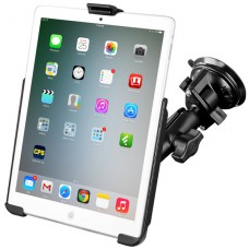 RAM iPad Mini 1-3 Cradle with Twist-lock Suction Cup Mount - No case / sleeve