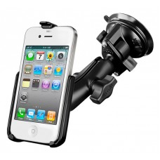 RAM iPhone 4/4S mount with Twist Lock Suction Cup Base