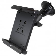 "RAM iPad Mini / 8"" Tablet Cradle with Suction Cup mount"