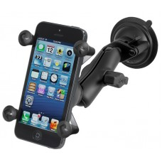 RAM X-Grip Universal Smart Phone Mount with Twist Lock Suction Cup Base