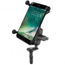 RAM Fork Stem Mount & X-Grip Phablet Holder - iPhone 6/7, Galaxy