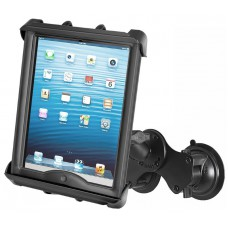 "RAM Tab-Tite Universal cradle for 10"" Tablets with Dual Cup Suction Cup Base"