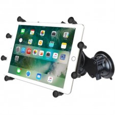 "RAM X-Grip Universal Cradle for 12"" Tablets with Dual Suction Cup Base"