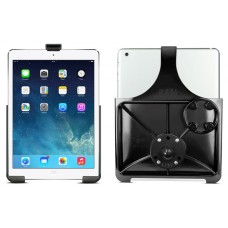 RAM EZ-Roll'r Cradle with Round Base Adapter  iPad 5th gen, Air 1-2 and Pro 9.7