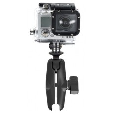RAM Action Camera Universal Adapter with Double Socket Arm