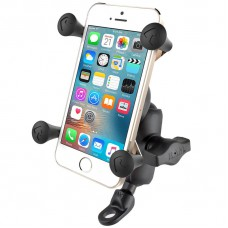 RAM X-Grip Universal SmartPhone Cradle with 9mm Angled Bolt Head Adaptor
