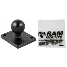 RAM Garmin Square Base Plate for GPSMap 620 & 640, Echo 100/150/300c