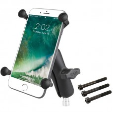 RAM X-Grip Universal Phablet Cradle - with Motorcycle M8 Handlebar Clamp