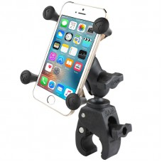 RAM X-Grip Universal SmartPhone Cradle with Small Tough-Claw Base & Short Arm
