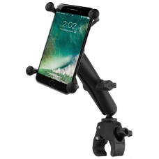 RAM X-Grip Universal Phablet Cradle with Tough-Claw Handlebar / Rail Base