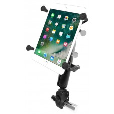 "RAM X-Grip Universal 7"" / 8"" Tablet Cradle + Tough-Claw Handlebar/Rail Mount"