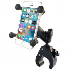 RAM X-Grip Universal SmartPhone Cradle with Tough Claw for Handlebars / Rails