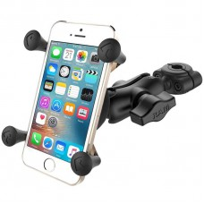 RAM X-Grip Universal SmartPhone Cradle with Torque Base (Small 9 - 16mm bars)