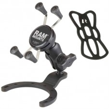 RAM X-Grip Universal Phone Holder with large Fuel Tank Motorcycle Mount