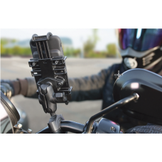 RAM Universal - Quick Grip Phone Holder -  with Torque Base and Short Arm