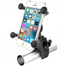 RAM X-Grip Universal Phone Cradle & Tough-Claw Handlebar Mount
