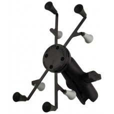 """RAM X-Grip and Double Socket Arm - for 7"""" Tablets - 1"""" Ball"""