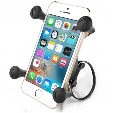 RAM X-Grip Universal Smartphone Cradle with EZ-ON/OFF Bicycle Mount