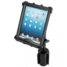 "RAM Tab-Tite Universal Cradle for 10"" Tablets with RAM-A-CAN cupholder base"