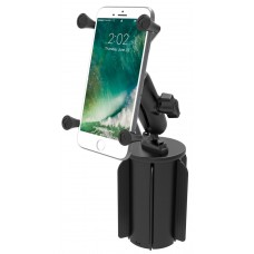 RAM X-Grip Universal Phablet Cradle with RAM-A-CAN cupholder base