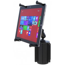 """RAM X-Grip Universal Cradle for 12"""" Tablets with RAM-A-CAN cupholder mount"""