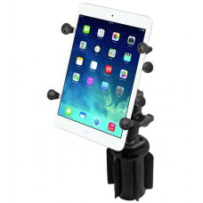 "RAM X-Grip Universal Cradle for 7"" to 8"" Tablets with Cup Holder Base"