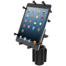 """RAM X-Grip 10"""" Tablet Holder with Cup Holder Base"""