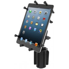 "RAM X-Grip Universal Cradle for 10"" Tablets with RAM-A-CAN cupholder base"