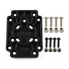 RAM Adapt-To-RAM Mounting Plate - connect non RAM parts to RAM gear