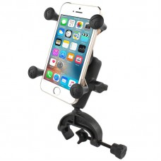 RAM Universal Composite Clamp Mount with Universal X-Grip Cell Phone Cradle