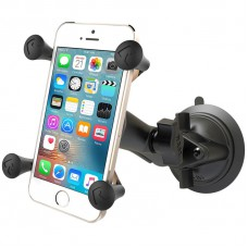 RAM X-Grip with Twist Lock Suction Cup - Universal Cradle for Smart Phones