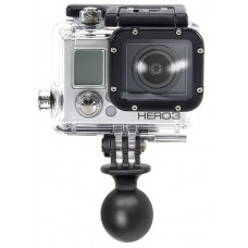 "RAM Action Camera / Go Pro Universal Ball Adapter - B Series (1"" Ball)"