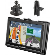 RAM Garmin Cradle - Nuvi 42, 42LM, 44 & 44LM - with Suction Cup Base